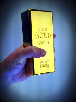 Gold bullion decoration - HOHF000431