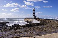 Spain, Balearic Islands, Palma de Mallorca, Colonia de Sant Jordi, light house - THAF000026