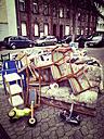 Bulky waste, Koblenz, Rheinland-Pfalz, Germany - CSF020811