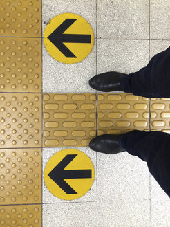Floor in a train station in Kyoto, Japan - FL000411