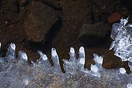 Germany, Saxony, ice at river - JTF000512