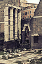 Italy, Rome, Columns of the Forum Romanum - KA000096