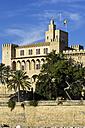 Spain, Majorca, Palma, Palau de Almudaina - THAF000070