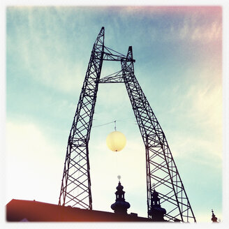 Winter sun, installation at the OK place, Linz, Upper Austria, Austria - MS003330