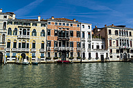 Italy, Venice, Houses at Canale Grande - EJWF000254