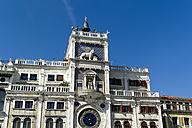 Italy, Venice, St Mark's Square, Torre dell'Orologio - EJWF000255