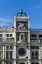 Italy, Venice, St Mark's Square, Torre dell'Orologio - EJWF000291