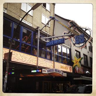 Grosse Freiheit 36, Night Club, St. Pauli, Hamburg, Germany. - ZM000214