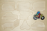 Wooden puzzle for little children - MU001423
