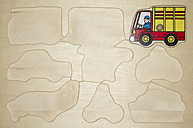 Wooden puzzle for little children - MU001429