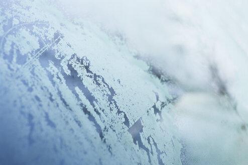 Frozen windscreen, detail - MUF001432