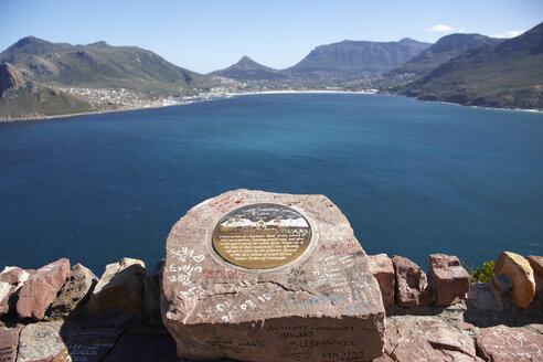 South Africa, Hout Bay, View towards Chapman's Peak - AKF000286