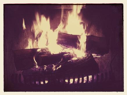 Fireplace, Germany, Bavaria, Sankt Englmar - BFRF000344