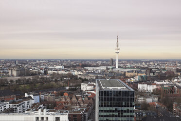 Germany, Hamburg, downtown and TV tower - ZMF000262