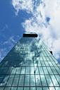 Switzerland, Canton Zurich, Zurich, facade of Prime Tower, view from below - EL000888