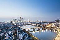 Germany, Hesse, View of Frankfurt am Main - MSF003380