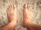 New Zealand, Feets in the sand - WV000447