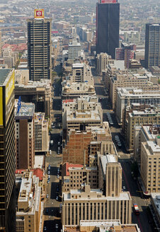 South Africa, Johannesburg, Overview of downtown - TK000288