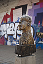 South Africa, Johannesburg, Downtown, Sculpture - TK000277