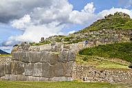 South America, Peru, Cusco, Inca citadel, ruin of Saksaywaman - KRP000317
