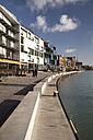Germany, North Rhine-Westphalia, Muenster, harbour, promenade - WIF000422
