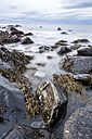 Scandinavia, Norway, Lofoten, rocks and waves at the coastline of Eggum - STSF000318