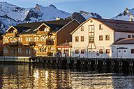 Scandinavia, Norway, Lofoten, Harbour of Kabelvag - STSF000315