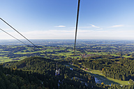 Germany, Bavaria, Chiemgau, Hochries cable car - SIE005120
