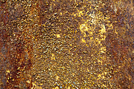 Old rusted steel sheet, detail - WIF000446
