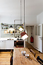 Large kitchen of flat in an old building - TK000310