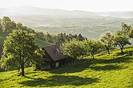 Austria, Styria, Western Styria, Deutschlandsberg, farmhouse on the landscape - HHF004738