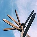 SignpoSt. Globailisierung, Weyarn, Bavaria, Deustchland - GSF000769