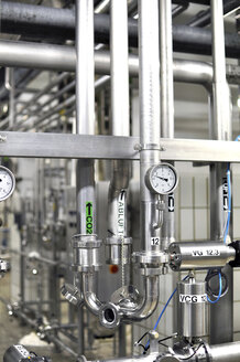 Germany, Pipeworks in brewery - SCH000128