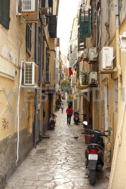 Greece, Corfu, Old town - AJF000023