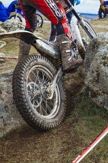 Spain, Madrid, El Molar, Motorcycle trials competition - AMC000058