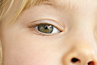 Eye of little girl, close-up - JFEF000277