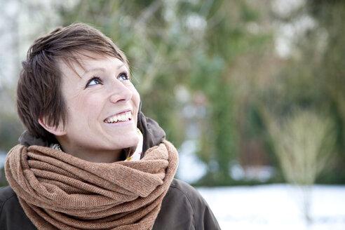 Portrait of happy woman - JFEF000319