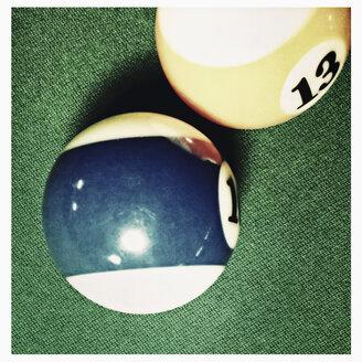 Poolbilliard, number 13 billiard ball, Hamburg, Germany - SEF000631