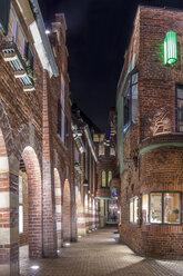 Germany, Bremen, Bottcherstraße shopping street - NKF000063