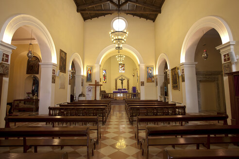 Greece, Corfu, Corfu Town, St. Jacobs Cathedral, interior view - AJ000027