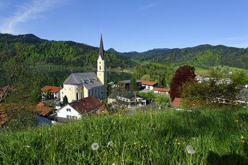 Germany, Bavaria, Schliersee, Parish church St. Sixtus - LB000680