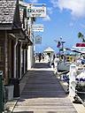 Caribbean, St. Lucia, Marigot Bay, Marina and shops - AM001891
