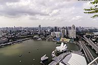 Asia, Singapore, View to Marina Bay - THA000153