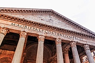 Italy, Rome, Pantheon - EJWF000377