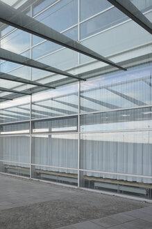 Germany, Bavaria, Munich, entrance of trade fair - AX000644