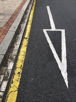 Road marking in Bilbao, Spain - FLF000402