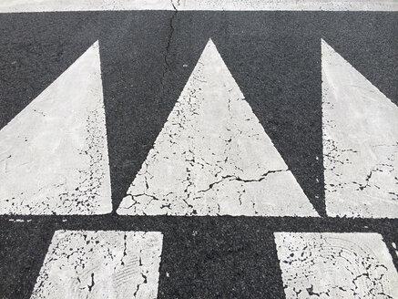 Road marking in Bilbao, Spain - FLF000405