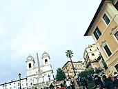 Spanish Steps, Piazza di Spagna, Scalinata di Trinita dei Monti, Rom, Italy - RIMF000171
