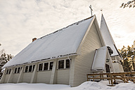 Finland, Inari, Church house - SR000389