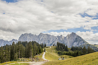 Austria, Gosau, View to Dachstein Mountains - KVF000031